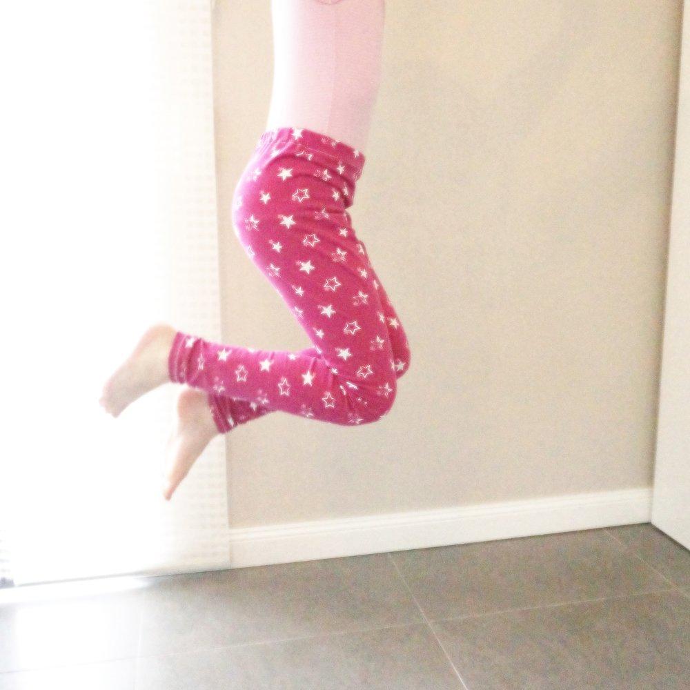 Leggings-mit-Gummibund
