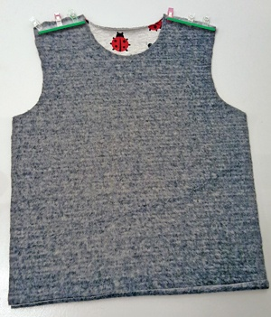 T-Shirt-nähen-Schulternähte
