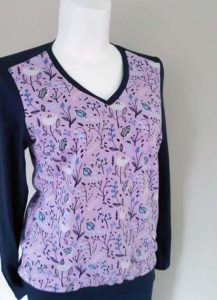 Schnittmuster Shirt Marlena French Terry 01