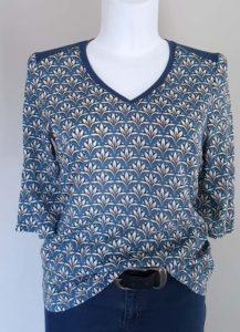 Schnittmuster Shirt Marlena Leinenlook 1