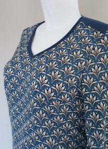 Schnittmuster Shirt Marlena Leinenlook 2