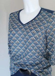 Schnittmuster Shirt Marlena Leinenlook 3