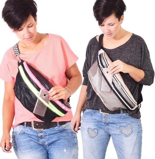 Schnittmuster Gürteltasche Brusttasche