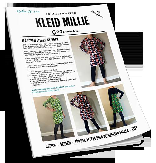 Schnittmuster Kleid Mädchen Millie