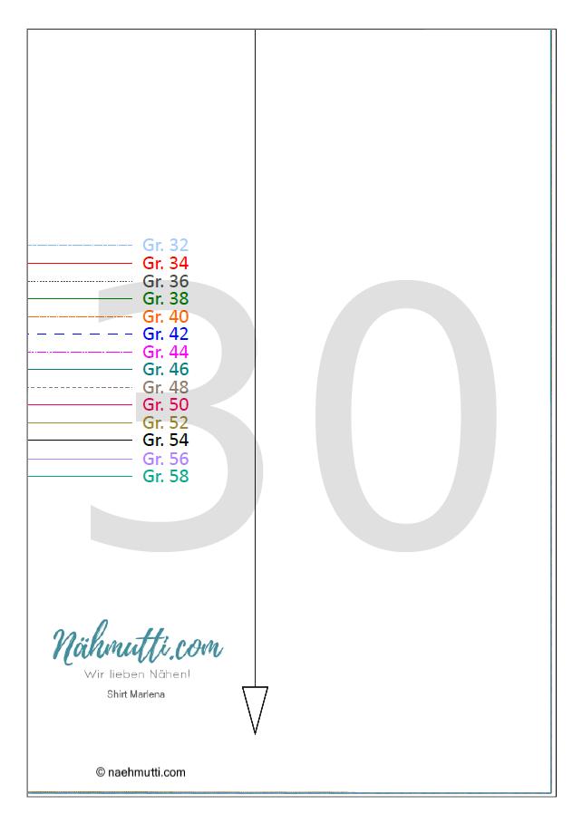 PDF Schnittmuster Shirt 30