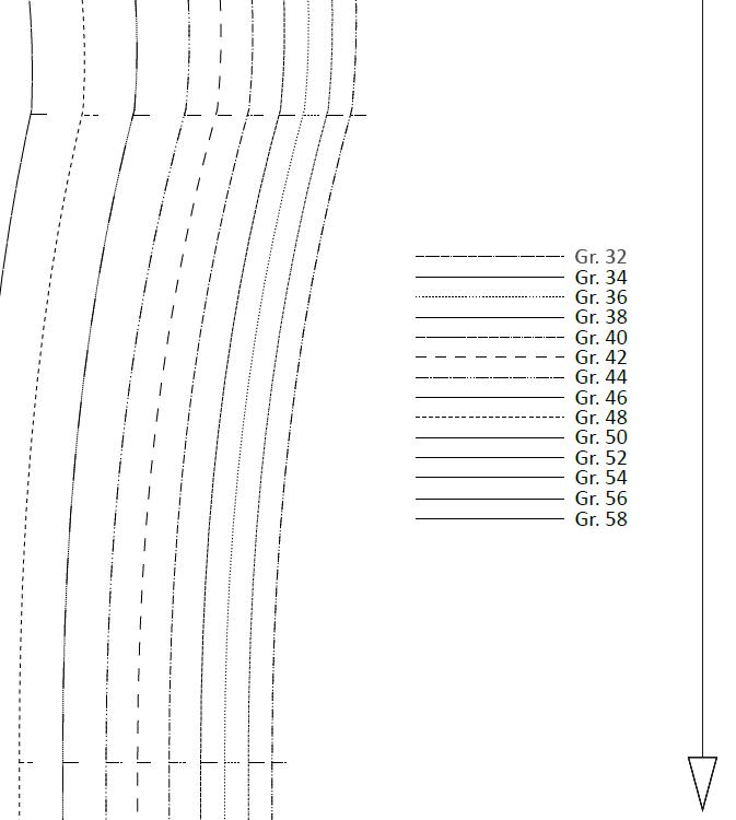 Papierschnittmuster sw 1