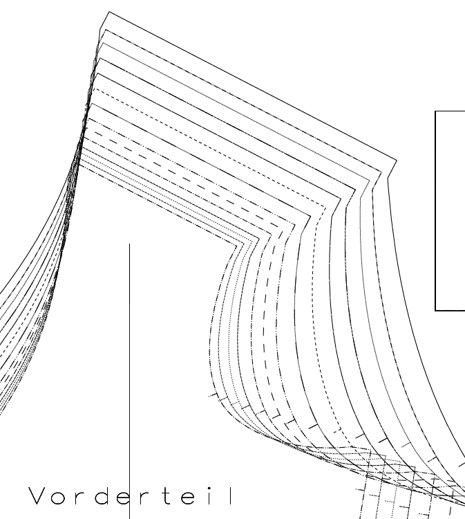Papierschnittmuster sw 2