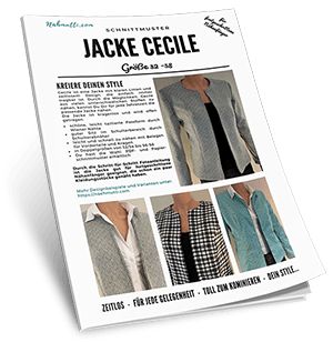 Schnittmuster Jacke Cecile