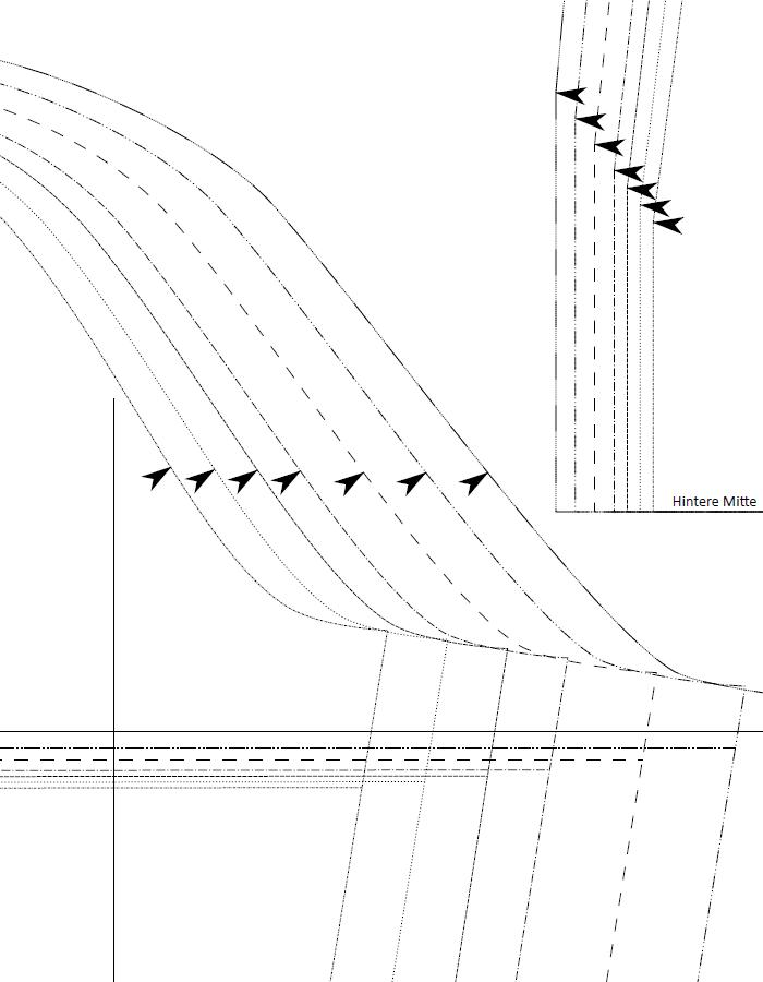 Blusenshirt Papierschnittmuster sw 2