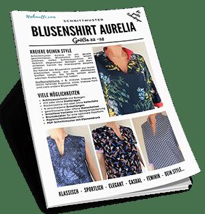 Schnittmuster Blusenshirt Aurelia