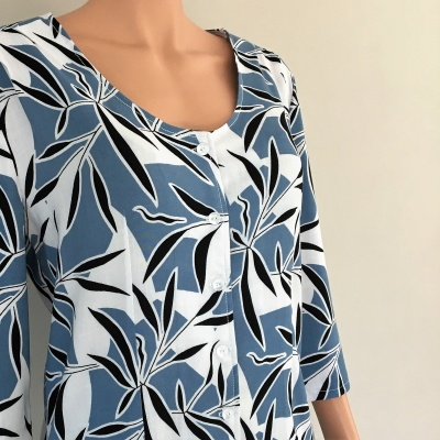 Schnittmuster Bluse 2