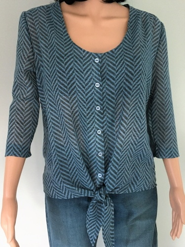 Schnittmuster Knotenbluse