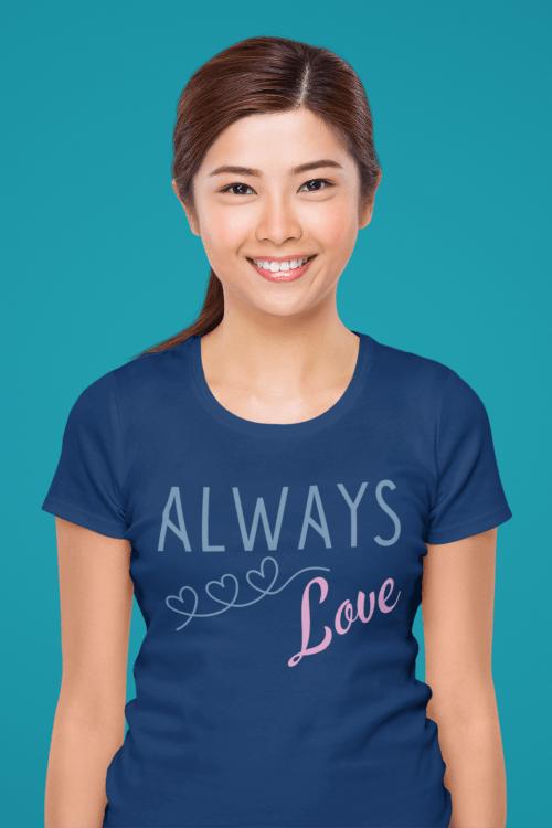 Plotterdatei-Shirt-AlwaysLove