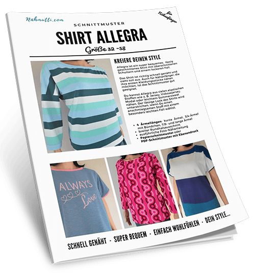 Schnittmuster Shirt Allegra