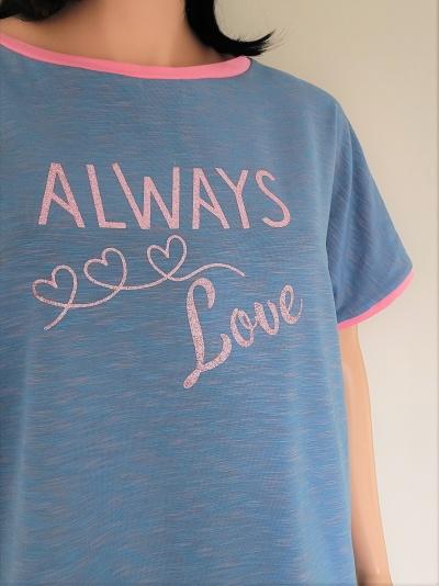 Shirt Allegra mit Plot